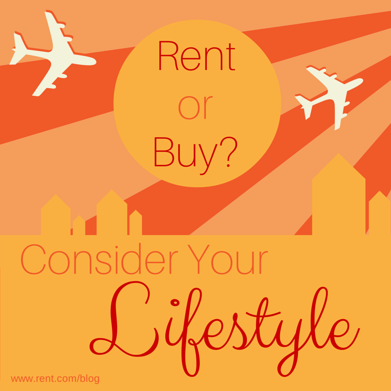 Rent vs Buy - Consider Your Lifestyle