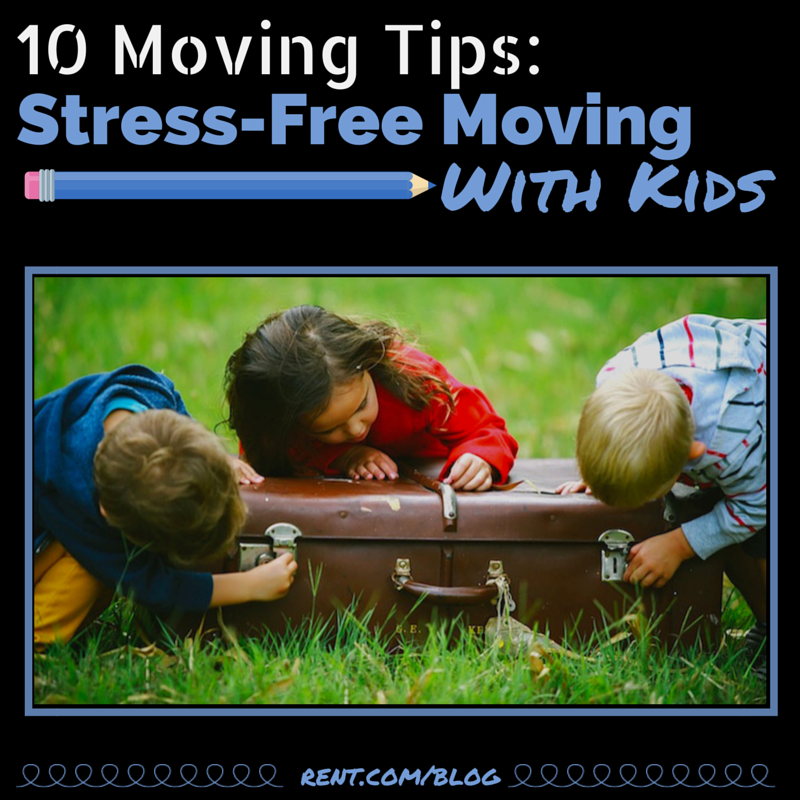 10 Moving Tips- Stress-Free Moving With Kids