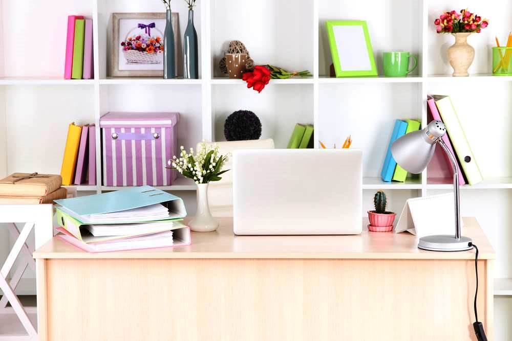 Making a Home Office in Your Apartment - Get Organized