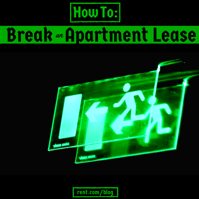 How to Break an Apartment Lease - If you unexpectedly need to move out of your apartment, getting out of your lease agreement can be tricky. Here's how to break a lease.