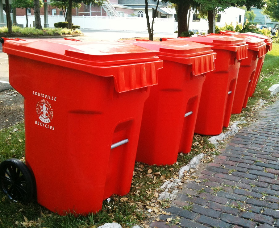 Planning A Summer Block Party - Recycling Bins