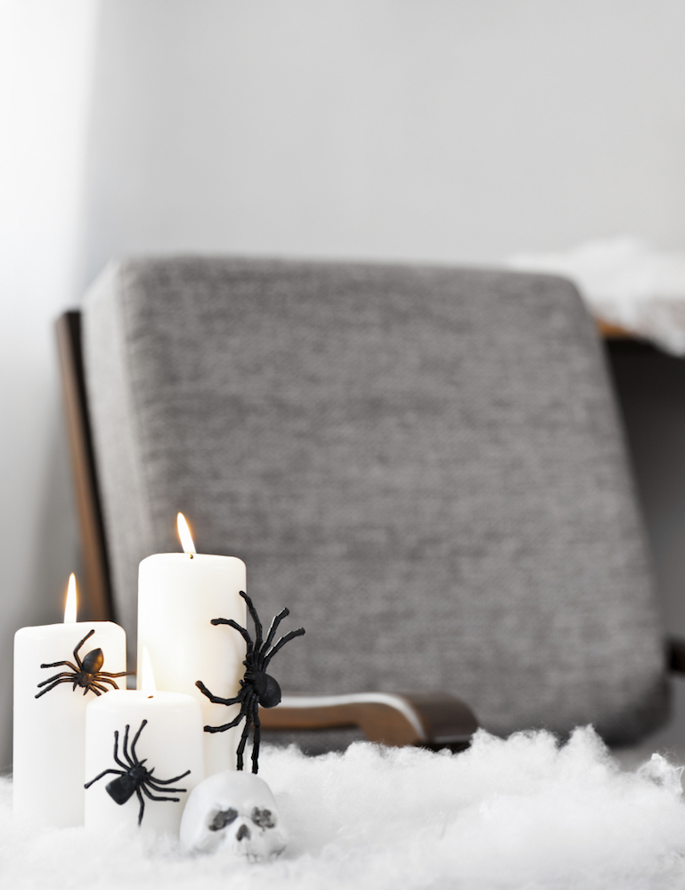 6 Reasons to Have an Apartment Wide Trick-or-Treating Party - Spooky Atmosphere