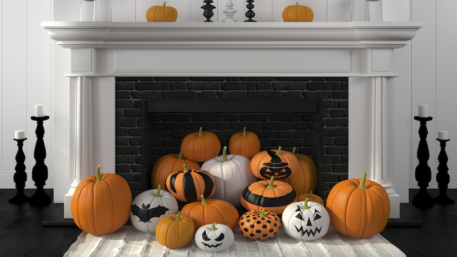 halloween ideas for decorating your apartment - Halloween Rental Decorations