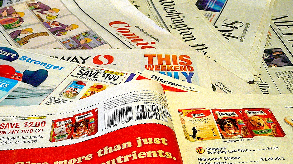 Saving with Sunday Newspaper Coupons - Just Buy the Sunday Paper