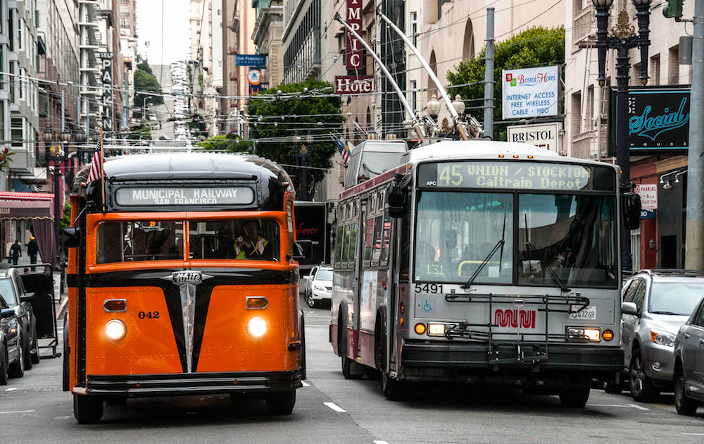 Your Guide to Commuting in San Francisco - Muni Busses