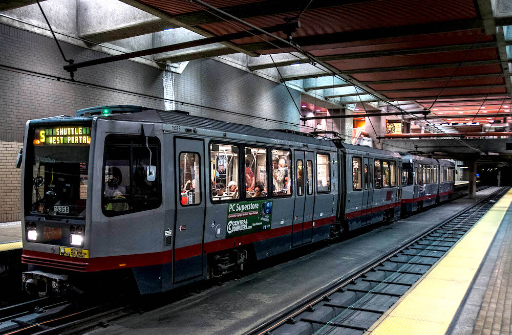 Your Guide to Commuting in San Francisco - Muni Light Rail