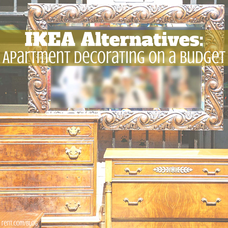 IKEA Alternatives- Apartment Decorating