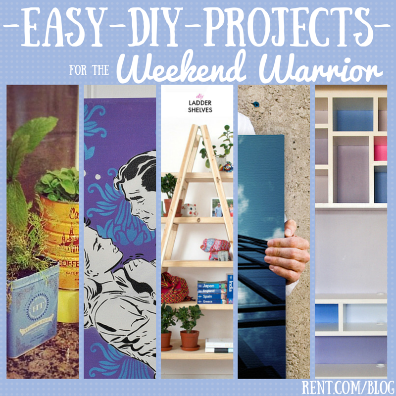 Easy DIY Projects for the Weekend Warrior