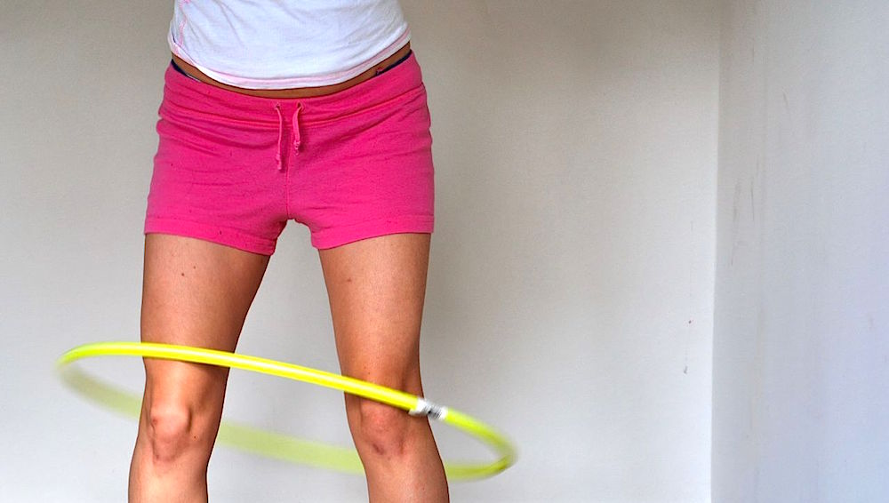 How to Do Cardio At Home - Hula Hoop