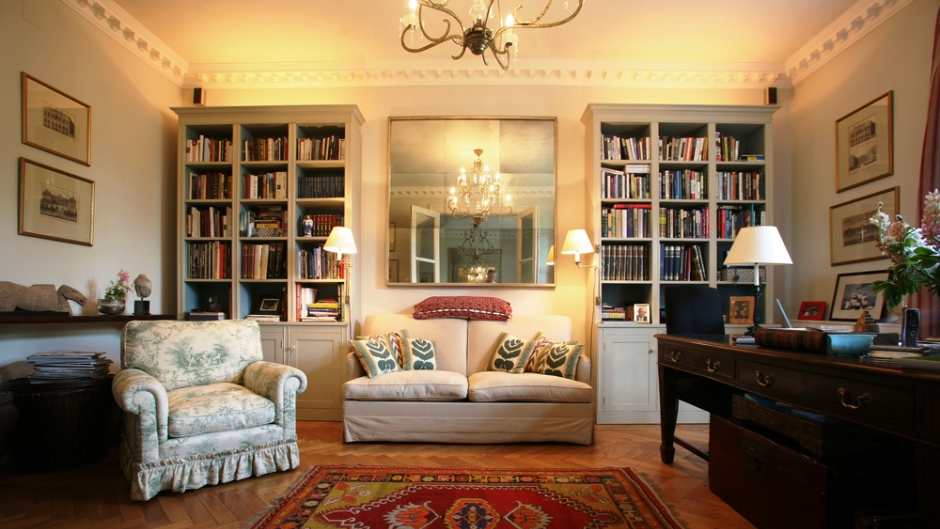 Repurposing A Bookshelf To Give Your Apartment Flair