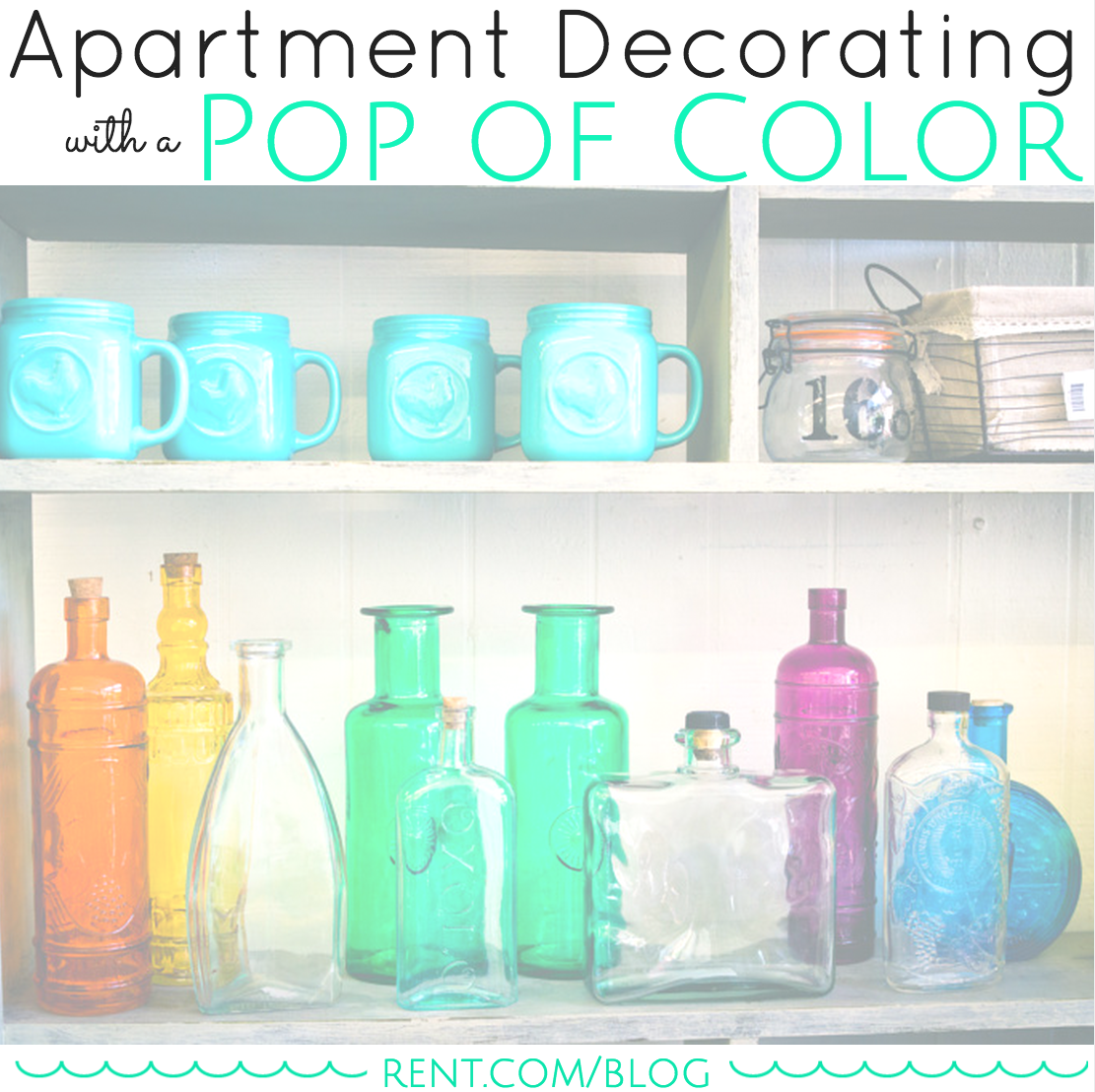 Apartment Decorating with a Pop of Color