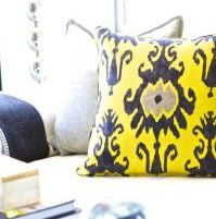 Colorful Throw Pillows - Sam Allen Interiors