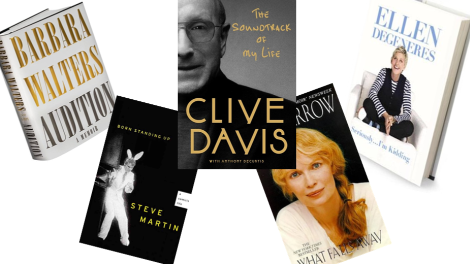 Five Books by Celebrities