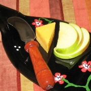 Wine Bottle Crafts Cheese Plate_Thumbnail