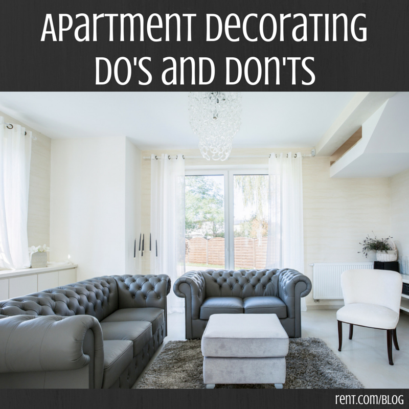Apartment Decorating Do's and Don'ts