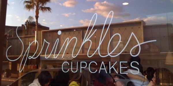 Celebrity Spotting - Sprinkles Cupcakes