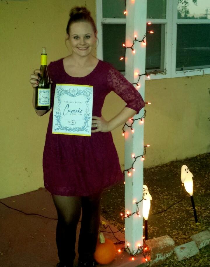 Halloween Wine Bottle Costume
