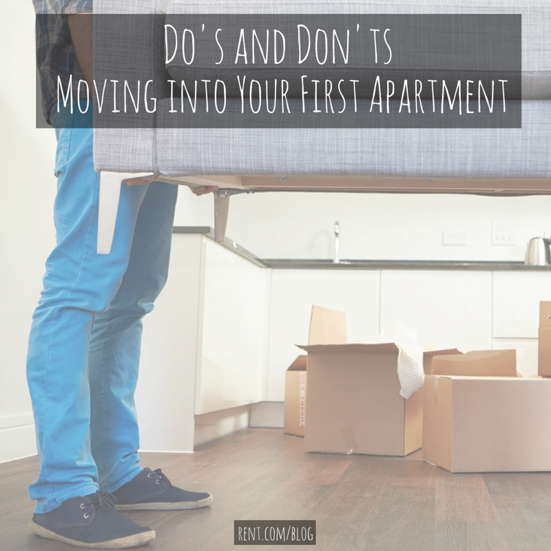 Do's and Don'ts for Moving into Your