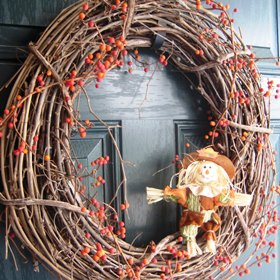 DIY Fall Wreath Ideas - Twig Wreath