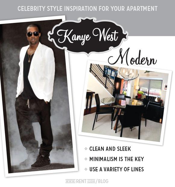 Celebrity Style - Kanye West - Modern
