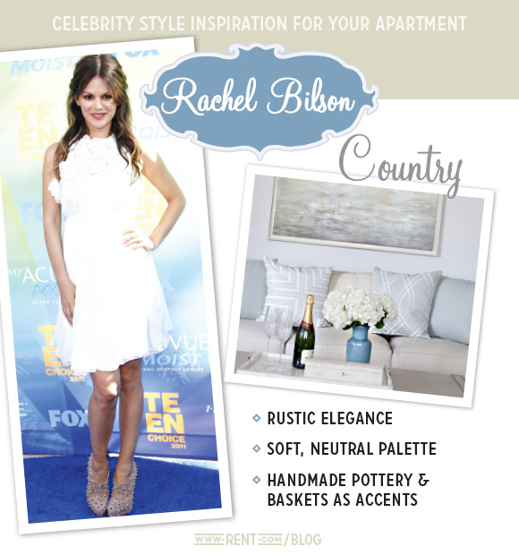 Celebrity Style - Rachel Bilson - Country