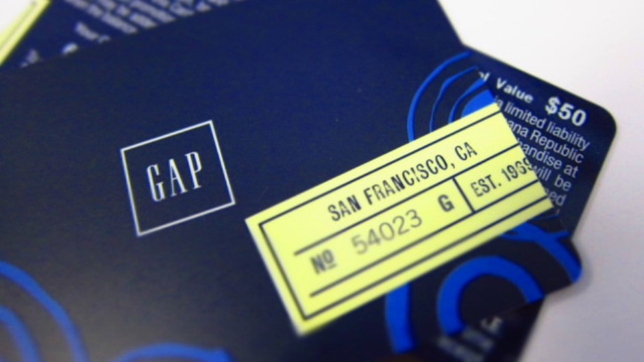 Minimum interest charge for the Gap Inc. Visa card and for the Gap Inc. credit card is $ The APR will vary with the market based on the Prime Rate. CONNECT WITH EMAIL & EBILL: Offer valid 1 time.