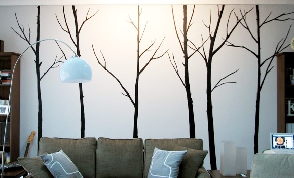 Winter Decor Ideas - Wall decal