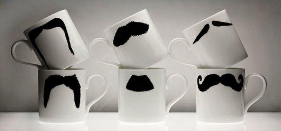 DIY Valentines Gifts - Mustache Mug