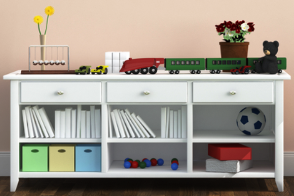3 Stylish Storage Ideas For a Kid's Room - Bookshelf