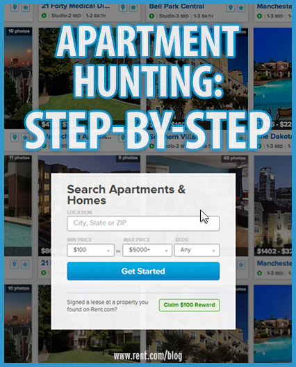 Apartment Hunting: Step by Step