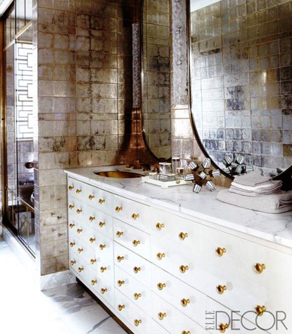 Bathroom Decor Ideas from Celebrity Homes - Rent.com Blog