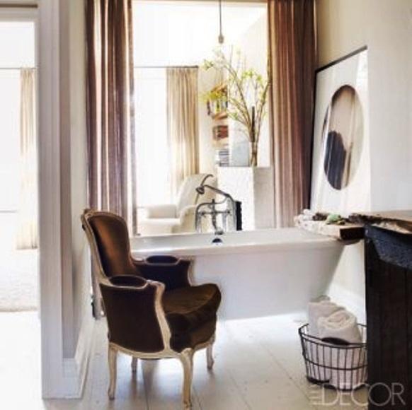 Bathroom Decor Ideas - Keri Russell