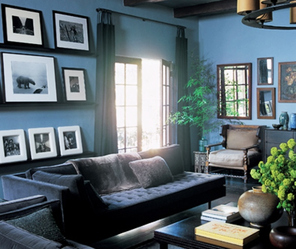 Celebrity Living Room - Ben Stiller