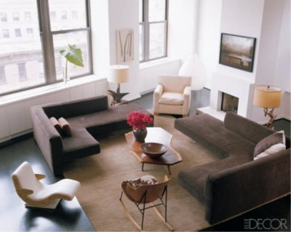 Celebrity Living Rooms - Julianne Moore