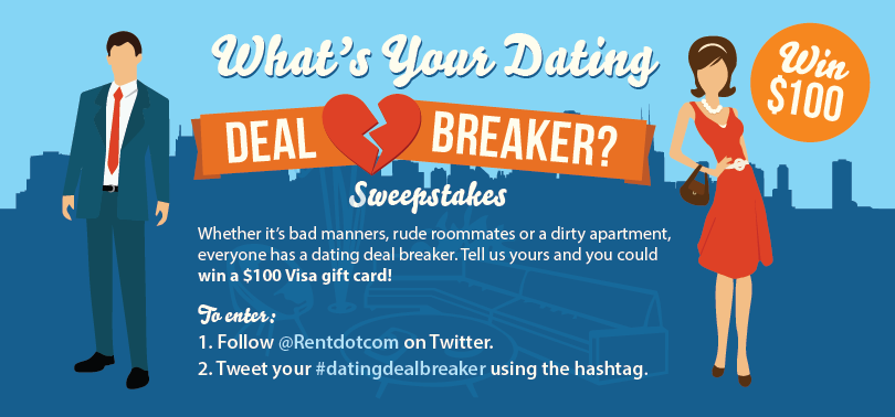 Dating Dealbreaker Sweepstakes