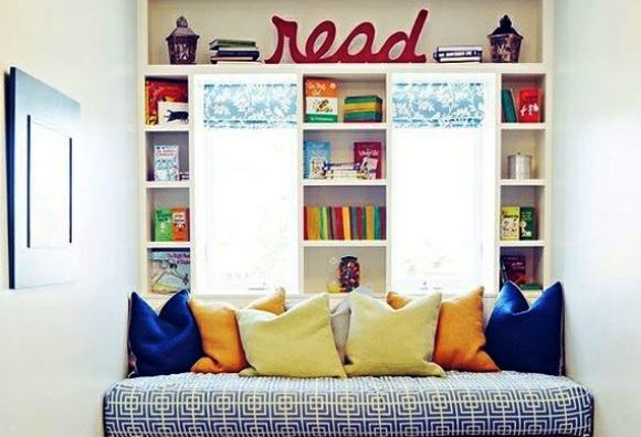 Fun Decorating Ideas for a Kid's Room - Reading Nook