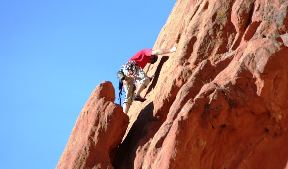 Best Spring Activities in Colorado Springs - Rock Climbing