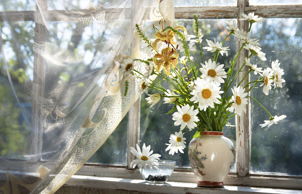 Easy Spring Decorating Ideas for an Updated Look - Change Your Window Treatments