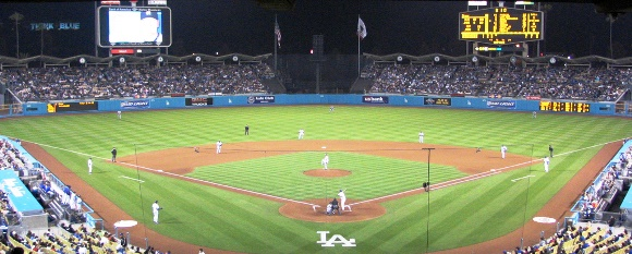 Spring in LA - Baseball Game at Dodger Stadium