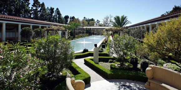 Spring in LA - Getty Villa