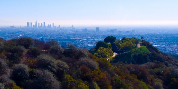 Spring in LA - Hike in Runyon Canyon Park