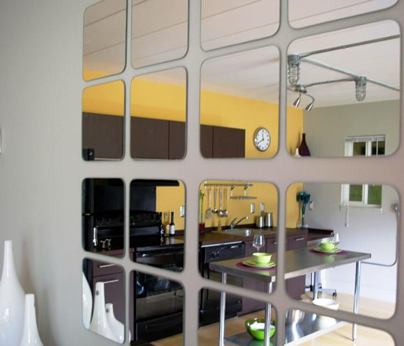 Decorating With Mirrors - Gallery Wall