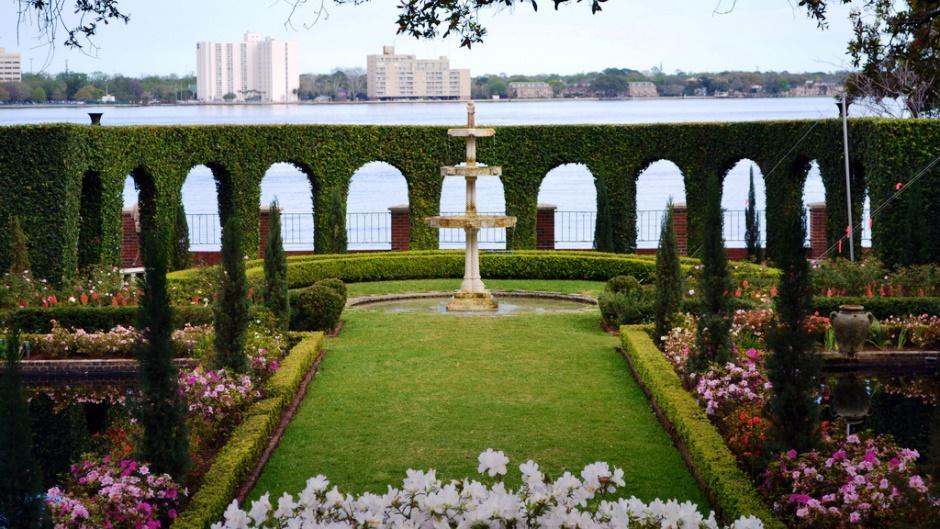 Summer Activities in Jacksonville - Cummer Museum Gardens