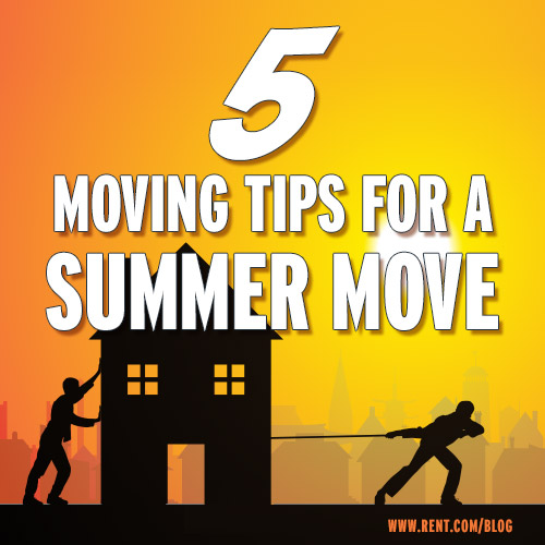 Summer Move Tips