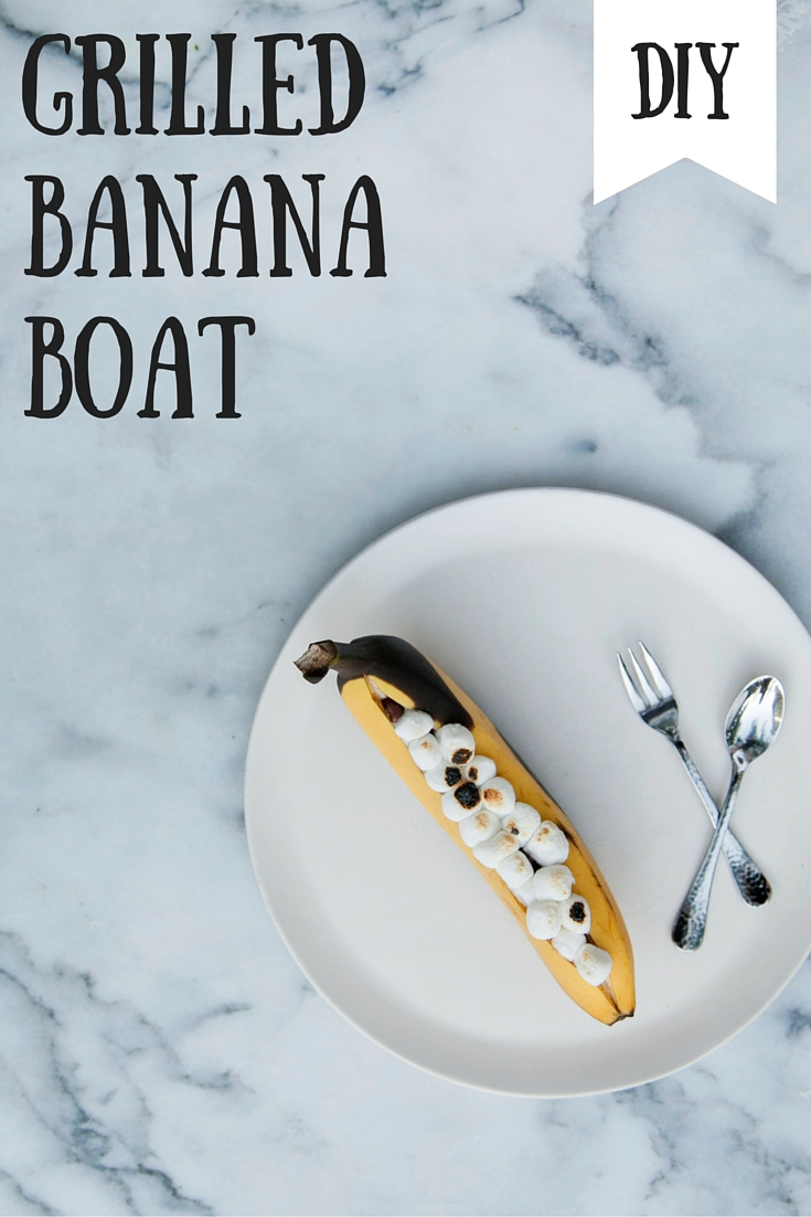 Summer Grilling: 6 Unusual Foods to Cook on the Grill Banana Boat