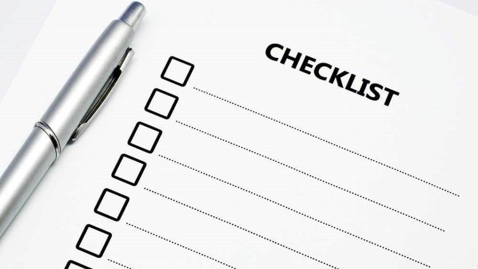 Your First Apartment Checklist