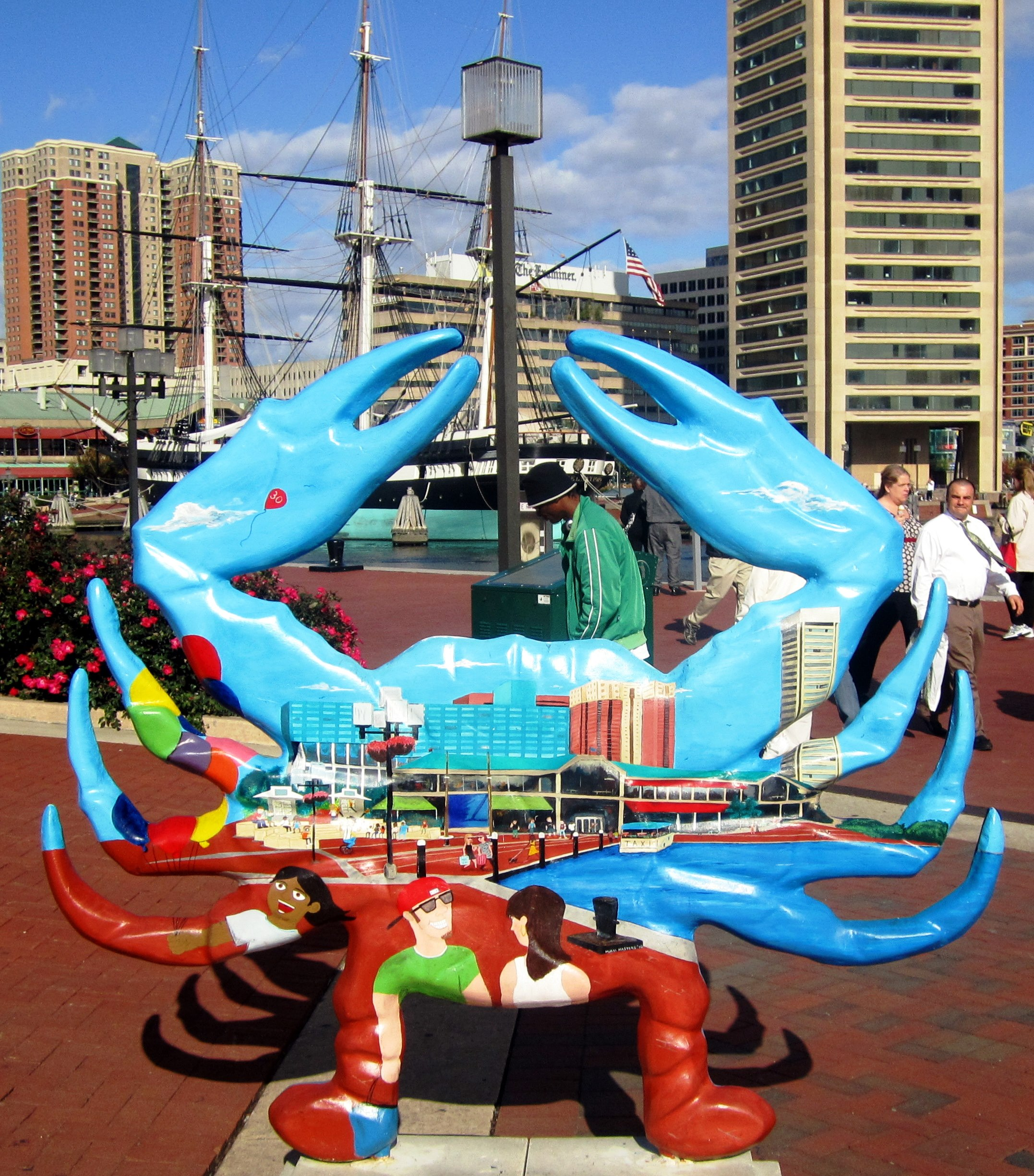 Summer Activities in Baltimore - Harborplace Amphitheater