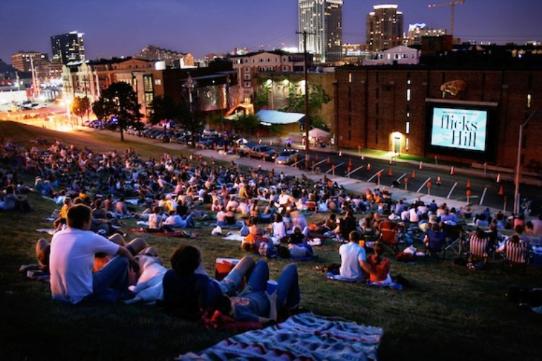American Visionary Art Museum's Flicks From The Hill Photo by Nick Prevas