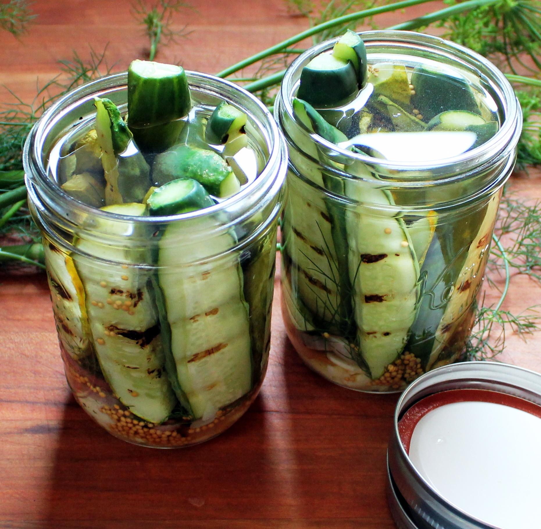 Summer Grilling - Pickles