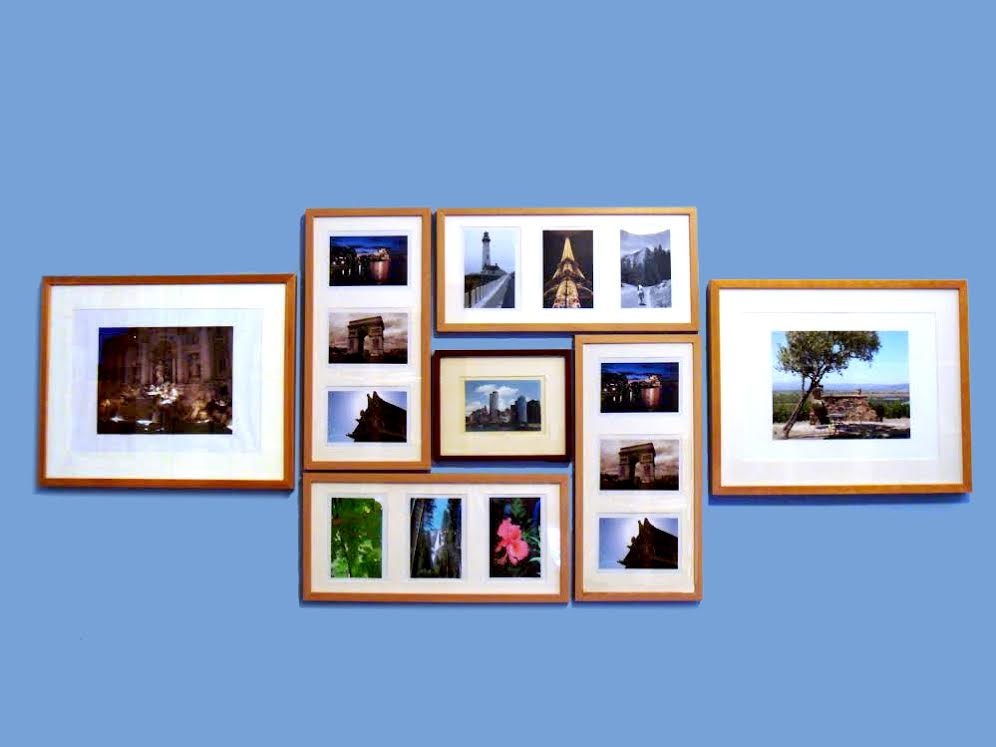 Highlight Your Travels In Your Apartment Decor - Gallery Wall